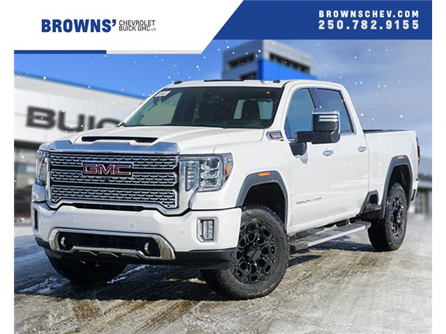 2020 GMC Sierra 3500HD Denali (Stk: T20-1130) in Dawson Creek - Image 1 of 18