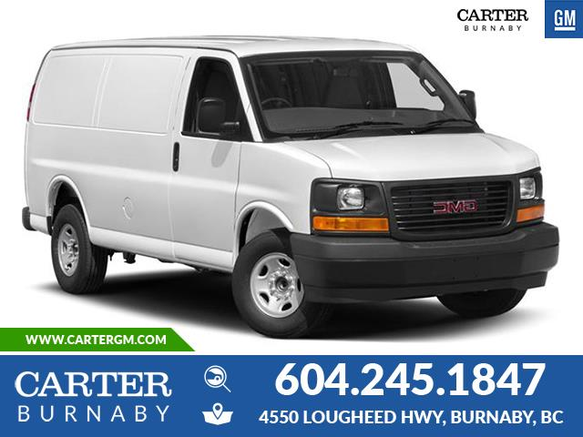 New 2020 GMC Savana 2500 Work Van  - Burnaby - Carter GM Burnaby