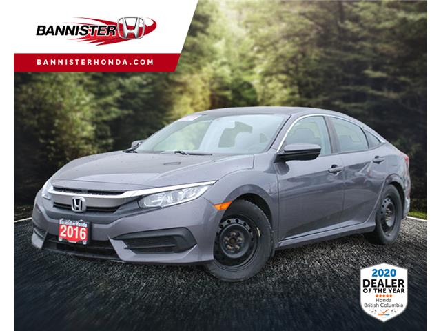 Used 2016 Honda Civic LX  - Vernon - Bannister Honda