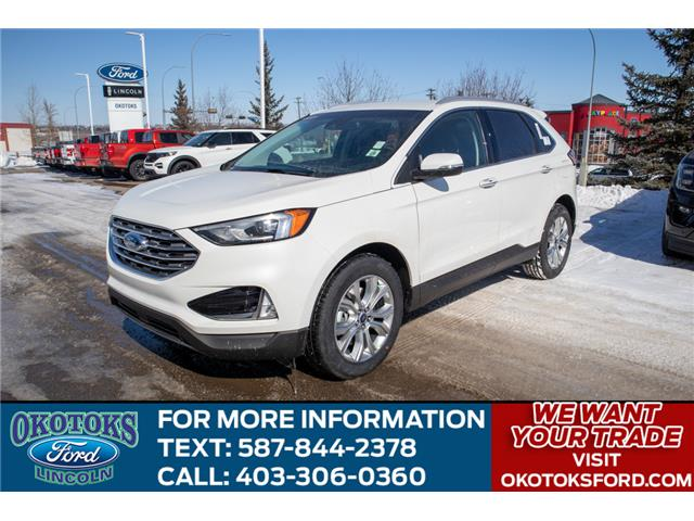 2020 Ford Edge Titanium (Stk: LK-132) in Okotoks - Image 1 of 5