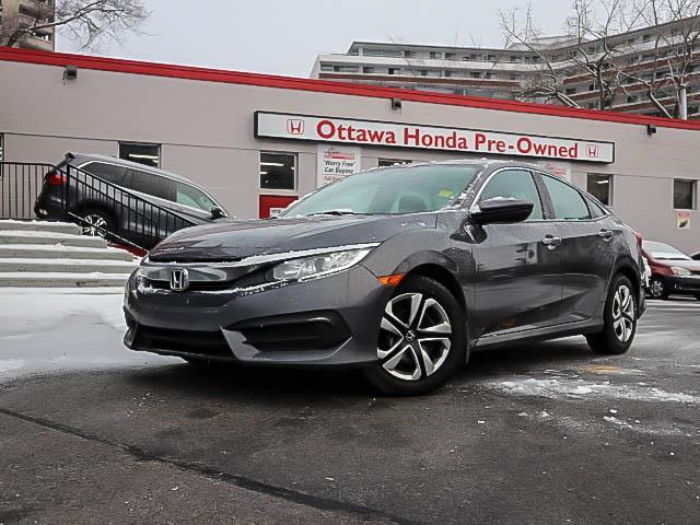 2016 Honda Civic LX (Stk: H82050) in Ottawa - Image 1 of 26