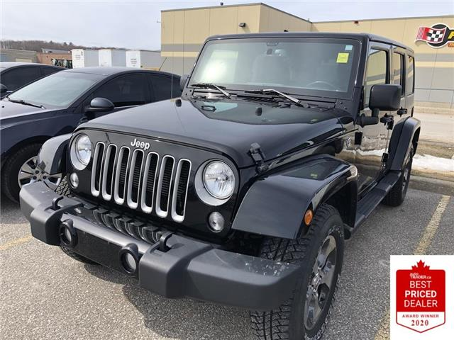 2018 Jeep Wrangler JK Unlimited  (Stk: 6415) in Orillia - Image 1 of 1