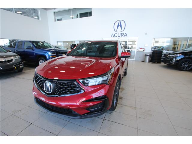 2019 Acura RDX A-Spec (Stk: PW0151) in Red Deer - Image 1 of 16