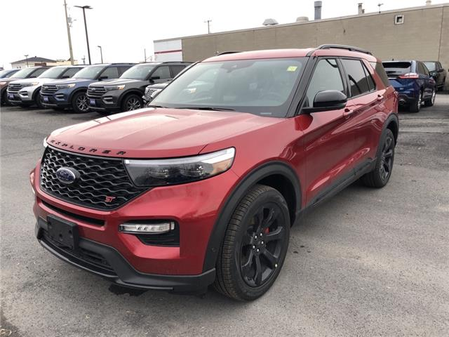 2020 Ford Explorer ST (Stk: 20113) in Cornwall - Image 1 of 13