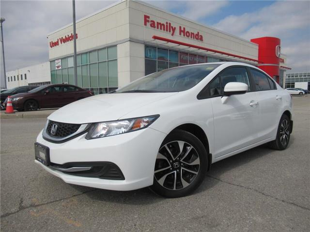 2015 Honda Civic Sedan 4dr Auto EX | GREAT CONDITION | PUSH START | (Stk: 002551X) in Brampton - Image 1 of 13