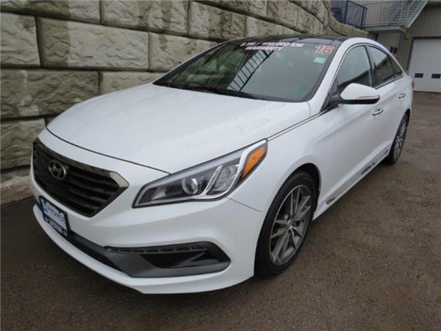 2016 Hyundai Sonata 2.0T Sport Ultimate (Stk: D00659P) in Fredericton - Image 1 of 23