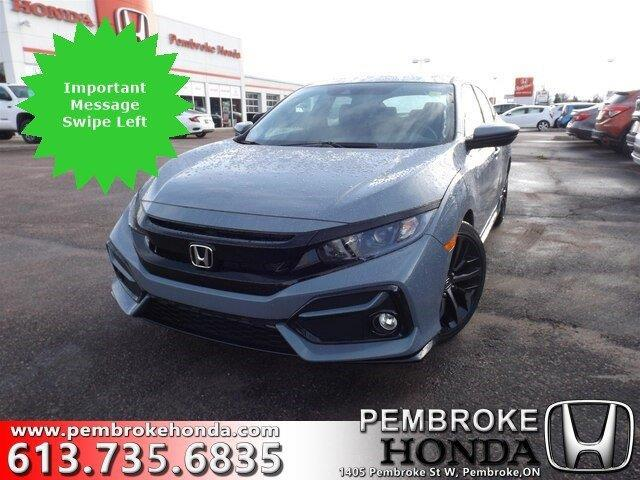 2020 Honda Civic Sport (Stk: 20010) in Pembroke - Image 1 of 28