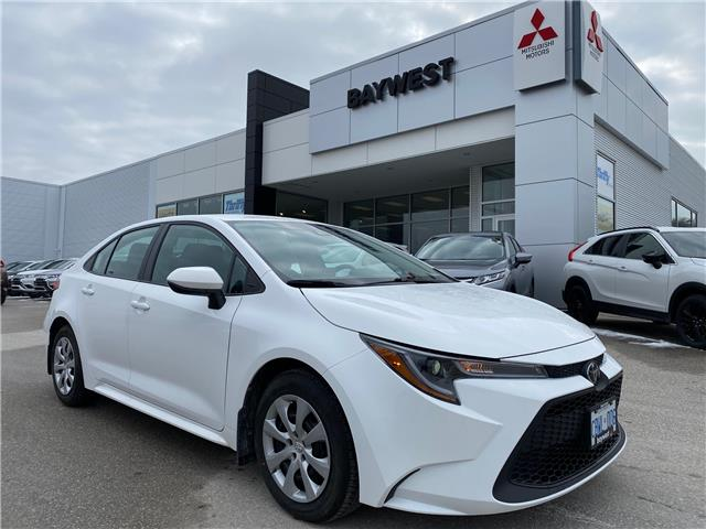 2020 Toyota Corolla LE (Stk: PM19061) in Owen Sound - Image 1 of 15