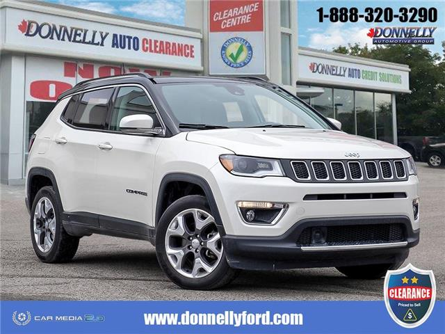 2018 Jeep Compass Limited (Stk: CLDUR6417) in Ottawa - Image 1 of 28