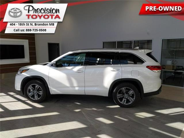 2019 Toyota Highlander Limited AWD (Stk: 201821) in Brandon - Image 1 of 27