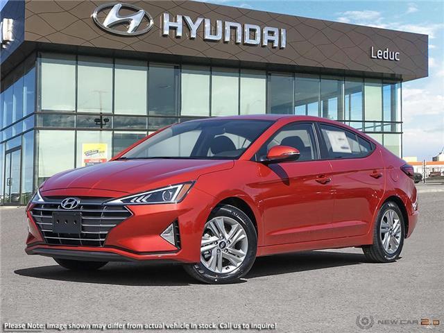 2020 Hyundai Elantra Preferred w/Sun & Safety Package (Stk: 20EL5327) in Leduc - Image 1 of 23