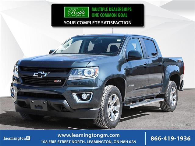 2017 Chevrolet Colorado Crew 4x4 Z71 / Short Box (Stk: 20-157A) in Leamington - Image 1 of 30
