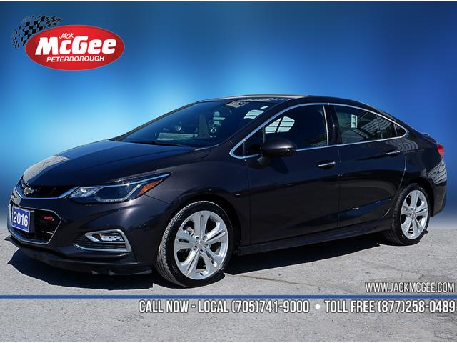 2016 Chevrolet Cruze Premier Auto (Stk: P16672) in Peterborough - Image 1 of 19