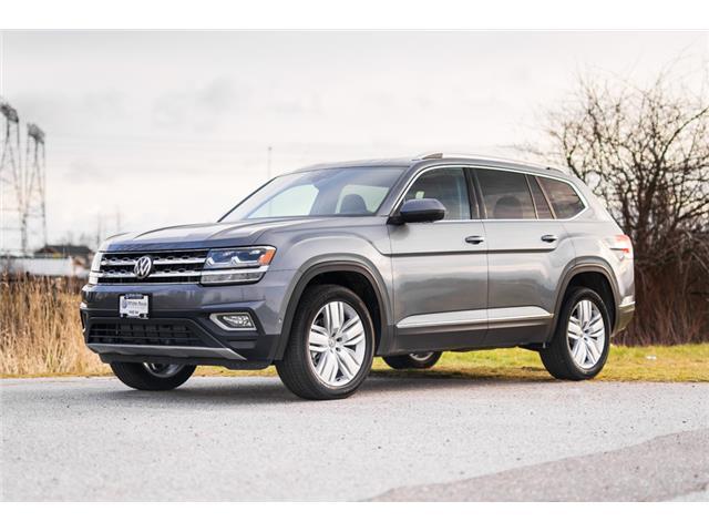 2019 Volkswagen Atlas 3.6 FSI Execline (Stk: KA585519) in Vancouver - Image 1 of 28