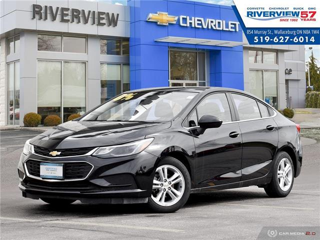 2018 Chevrolet Cruze LT Auto (Stk: U1829) in WALLACEBURG - Image 1 of 27