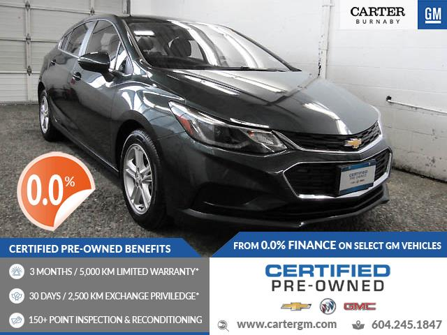 2018 Chevrolet Cruze LT Auto (Stk: P9-61600) in Burnaby - Image 1 of 22