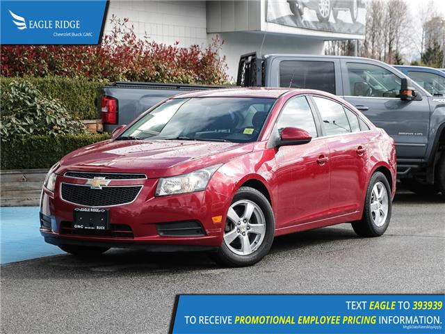 2011 Chevrolet Cruze LT Turbo (Stk: 110165) in Coquitlam - Image 1 of 14