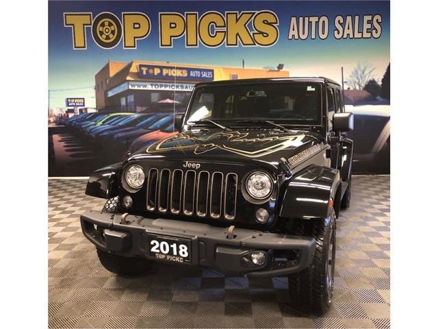 2018 Jeep Wrangler JK Unlimited Sport (Stk: 886183) in NORTH BAY - Image 1 of 27