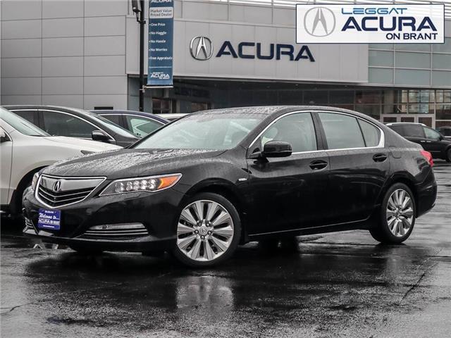 2015 Acura RLX Sport Hybrid Base (Stk: D496) in Burlington - Image 1 of 30