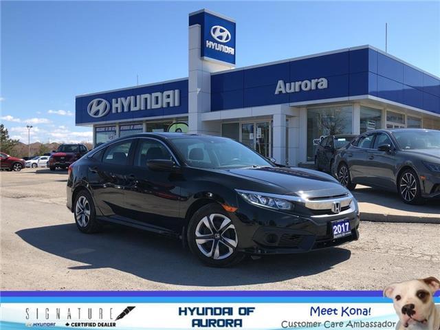2017 Honda Civic LX (Stk: L5198) in Aurora - Image 1 of 21