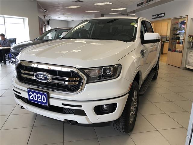 2020 Ford Ranger Lariat (Stk: 20103) in Cornwall - Image 1 of 12