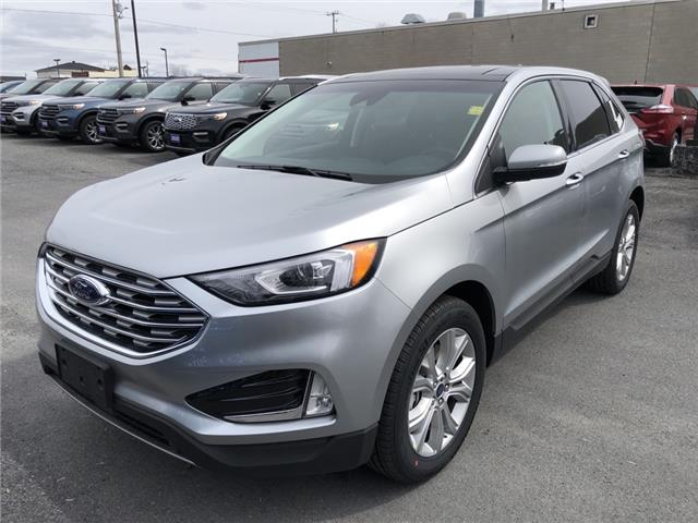 2020 Ford Edge Titanium (Stk: 20128) in Cornwall - Image 1 of 12