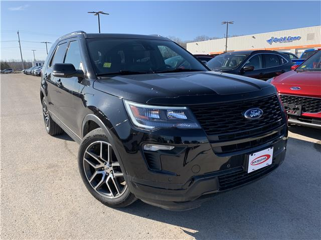 2019 Ford Explorer Sport (Stk: 20T341A) in Midland - Image 1 of 3