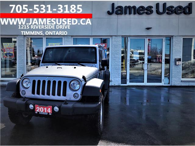 2014 Jeep Wrangler Sport (Stk: N19349B) in Timmins - Image 1 of 13