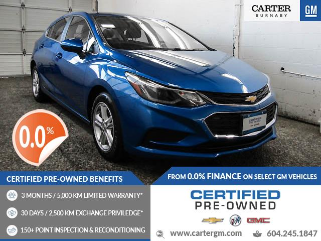 2018 Chevrolet Cruze LT Auto (Stk: P9-61640) in Burnaby - Image 1 of 23