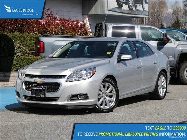 2016 Chevrolet Malibu Limited LTZ (Stk: 169837) in Coquitlam - Image 1 of 16