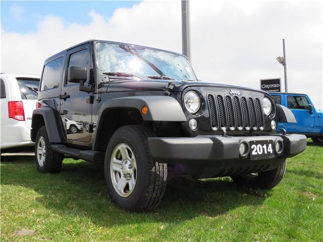 2014 Jeep Wrangler Sport (Stk: 84831) in St. Thomas - Image 1 of 17