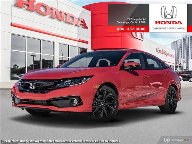 2020 Honda Civic Sport (Stk: 20652) in Cambridge - Image 1 of 22