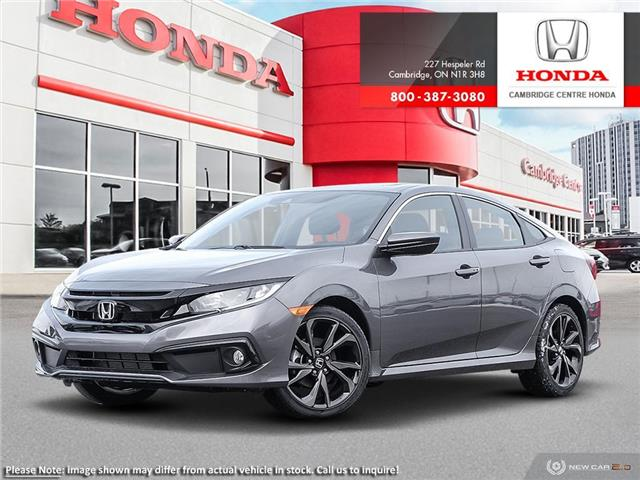 2020 Honda Civic Sport (Stk: 20795) in Cambridge - Image 1 of 24