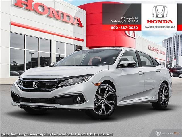 2020 Honda Civic Sport (Stk: 20812) in Cambridge - Image 1 of 24