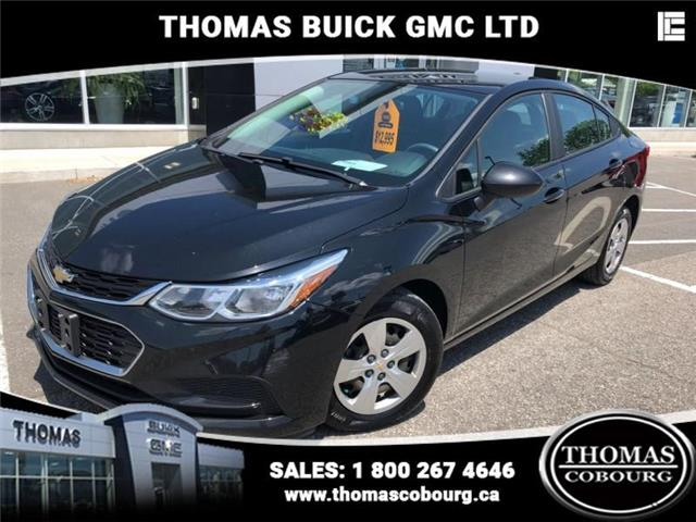 2016 Chevrolet Cruze LS Auto (Stk: UC85993) in Cobourg - Image 1 of 21