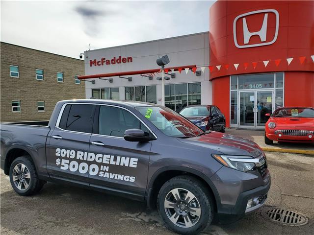 2019 Honda Ridgeline Touring (Stk: 2077) in Lethbridge - Image 1 of 19