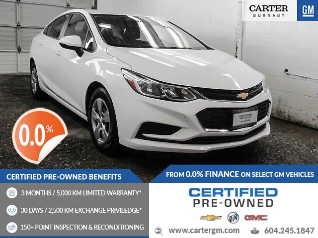 2017 Chevrolet Cruze LS Auto (Stk: P9-61590) in Burnaby - Image 1 of 21