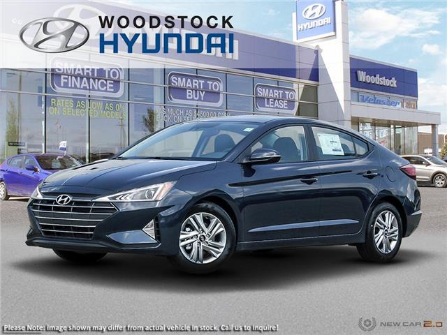 2020 Hyundai Elantra Preferred w/Sun & Safety Package (Stk: EA20028) in Woodstock - Image 1 of 23