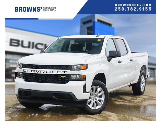 2020 Chevrolet Silverado 1500 Silverado Custom (Stk: T20-1281) in Dawson Creek - Image 1 of 15