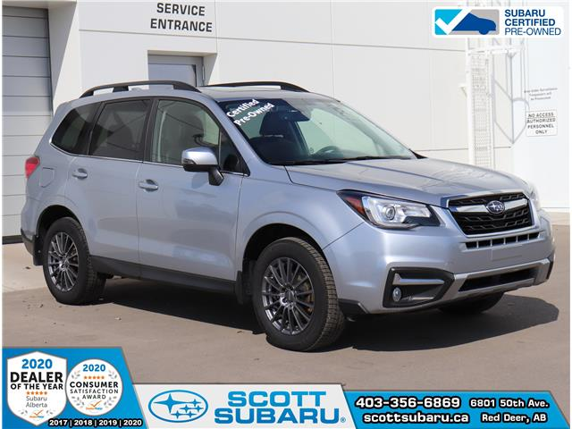 2018 Subaru Forester 2.5i Limited (Stk: SS0384) in Red Deer - Image 1 of 30