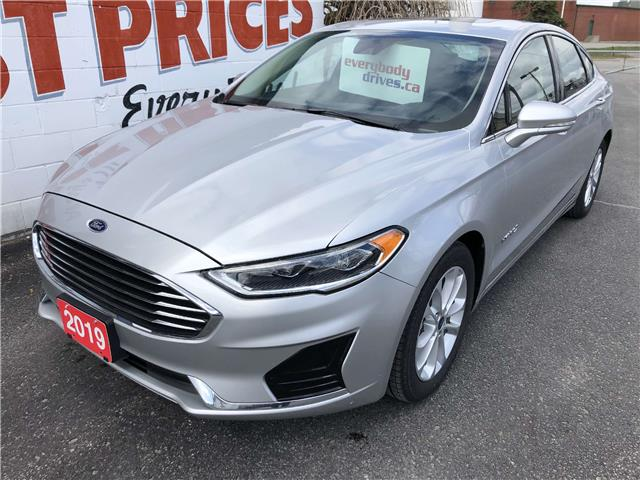 2019 Ford Fusion Hybrid SEL (Stk: 19-766) in Oshawa - Image 1 of 16