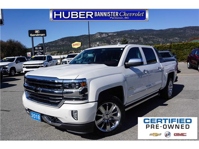 2018 Chevrolet Silverado 1500 High Country (Stk: 9465A) in Penticton - Image 1 of 26