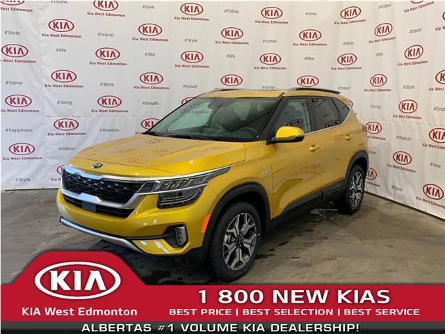 2021 Kia Seltos EX Premium (Stk: 22326) in Edmonton - Image 1 of 35