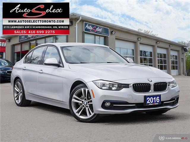 2016 BMW 320i xDrive WBA8A3C51GK551865 16TP767 in Scarborough