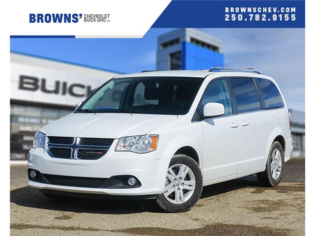 2018 Dodge Grand Caravan Crew 2C4RDGDG8JR310075 4454A in Dawson Creek