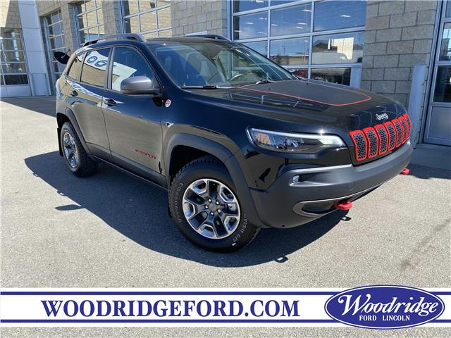 2019 Jeep Cherokee Trailhawk (Stk: L-115A) in Calgary - Image 1 of 22