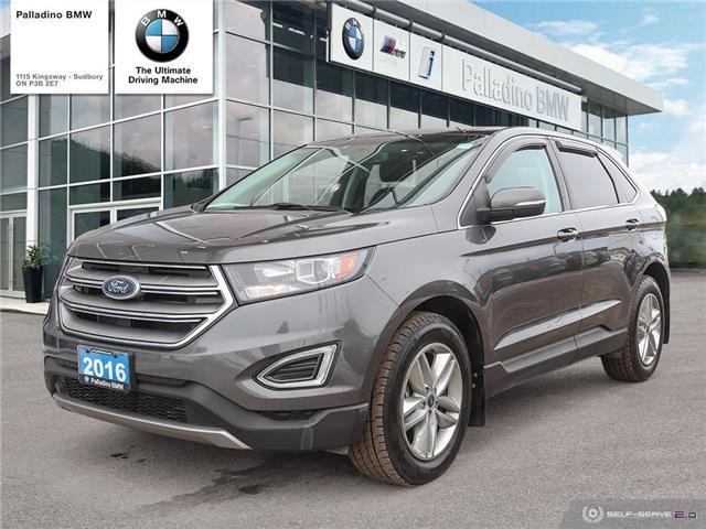2016 Ford Edge SEL (Stk: U0118A) in Sudbury - Image 1 of 21