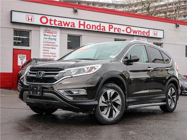 2016 Honda CR-V Touring (Stk: H81110) in Ottawa - Image 1 of 30