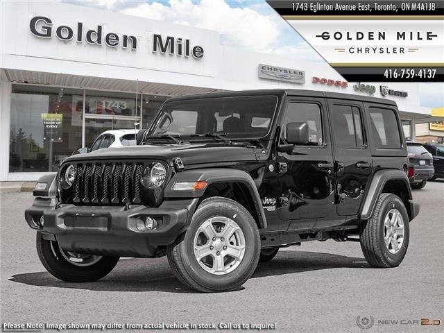 2019 Jeep Wrangler Unlimited Sport (Stk: 19242) in North York - Image 1 of 23