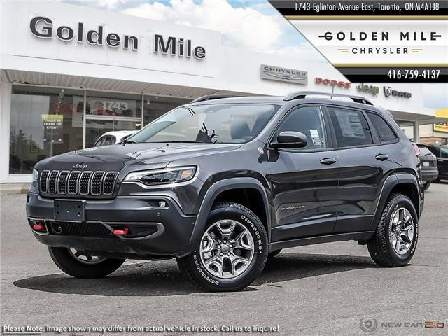 2020 Jeep Cherokee Trailhawk (Stk: 20047) in North York - Image 1 of 23